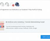planifier publication facebook