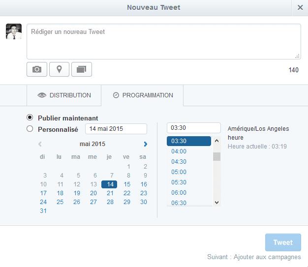planifier twitter