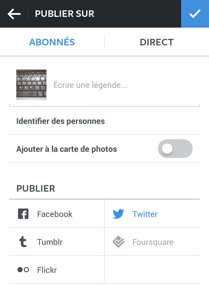 publier vos photos instagram sur twitter  guide complet
