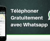 téléphoner gratuit whatsapp