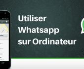 whatsapp ordinateur
