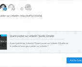 planifier post linkedin