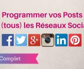 programmer réseaux sociaux