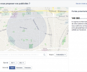 visible sur facebook
