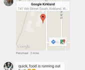 application google hangouts