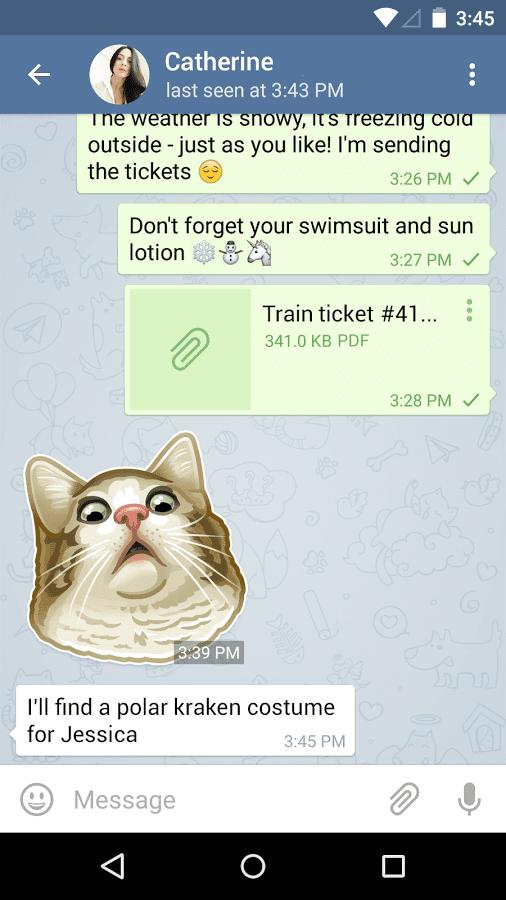application telegram