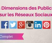 dimensions publicités réseaux sociaux