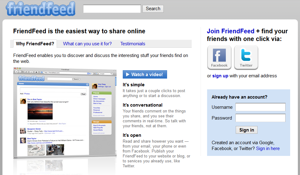 friendfeed