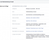 optimiser page facebook