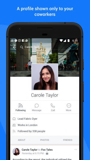 workplace by facebook android