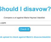 disavow lien google