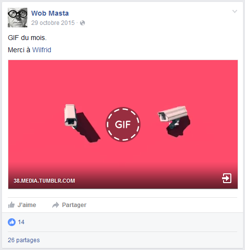 how to add gif to facebook comment