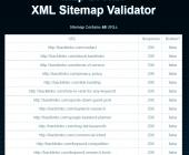 validation sitemap