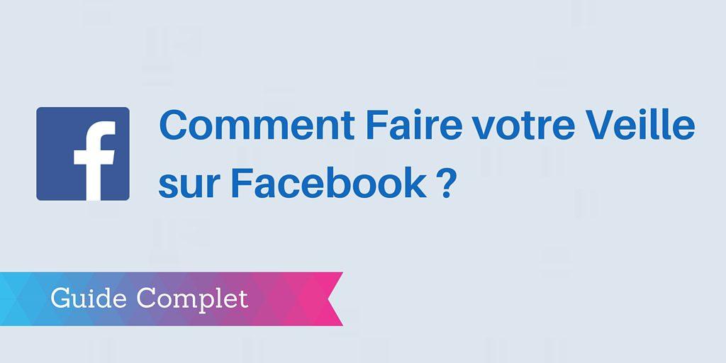 veille facebook