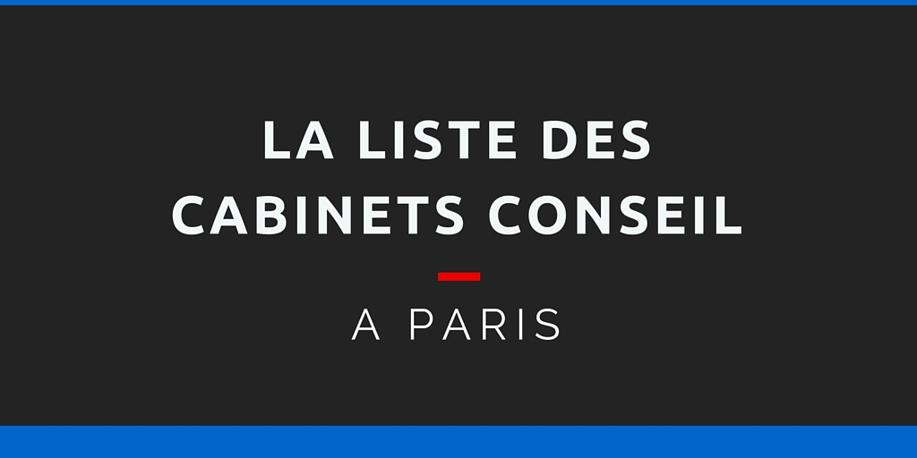 la liste compl te des cabinets conseil paris 1000 contacts. Black Bedroom Furniture Sets. Home Design Ideas