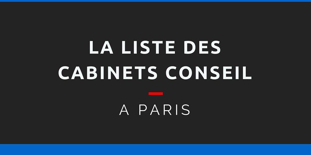 cabinet conseil paris