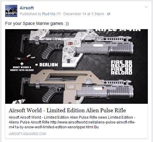 publication optimisée facebook
