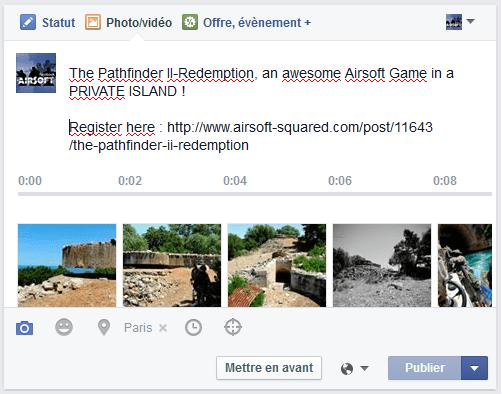 slideshow facebook