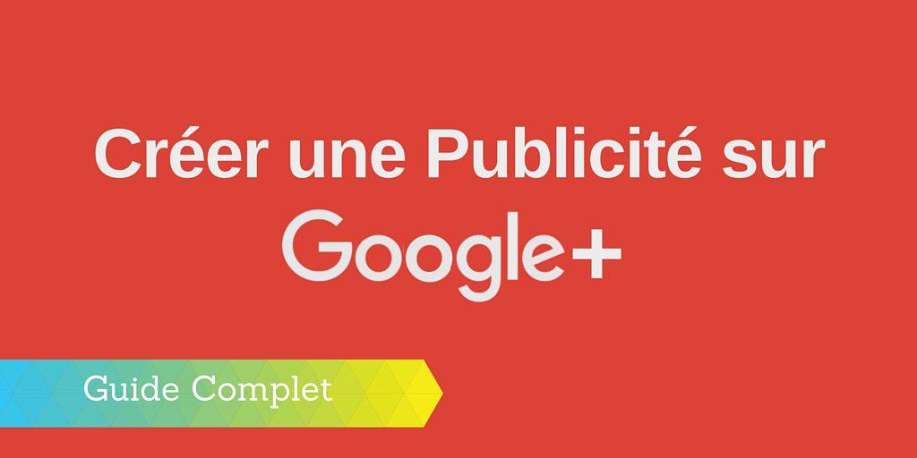 publicité google plus