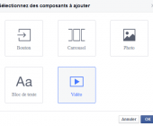 composants canevas facebook