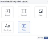 composants canevas facebook