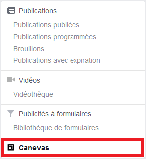 post facebook caneva