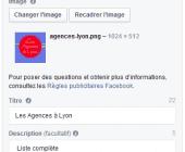 campagne facebook offre