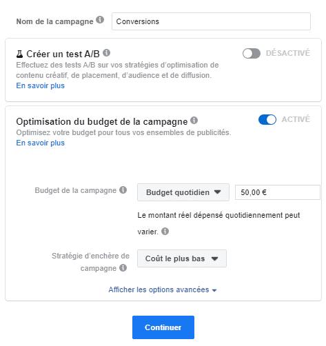 créer campagne facebook-ads