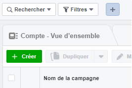 créer campagne facebook