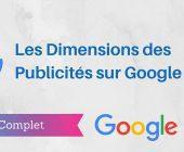 taille publicités google