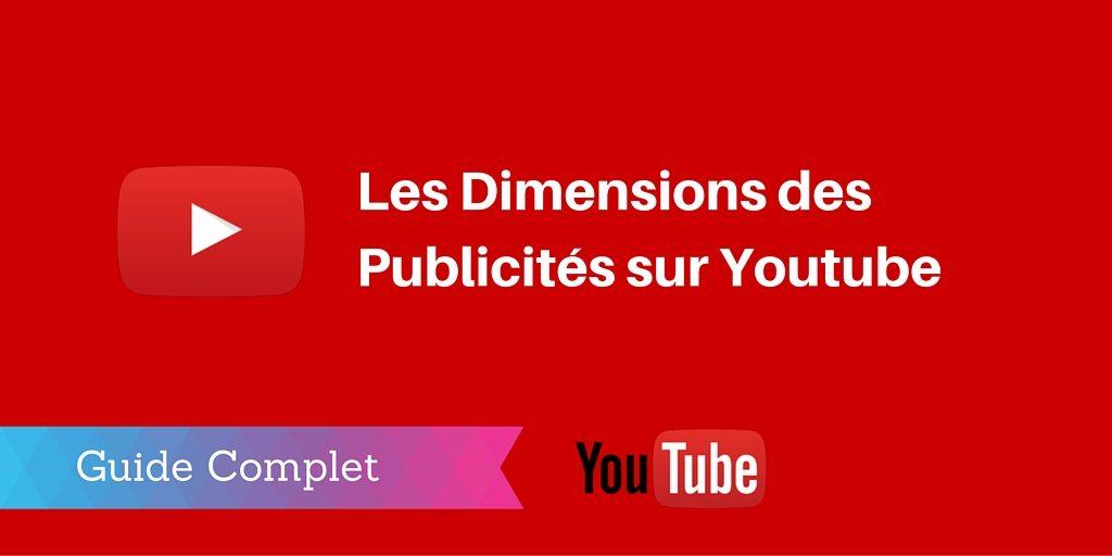 taille publicités youtube