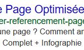 optimisation google