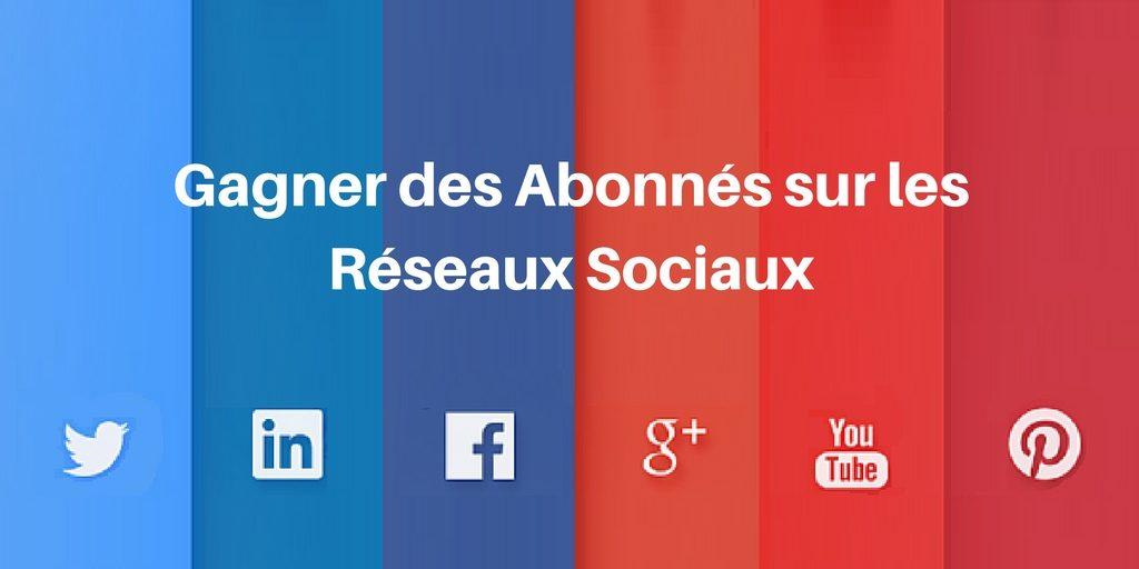 abonnés réseaux sociaux