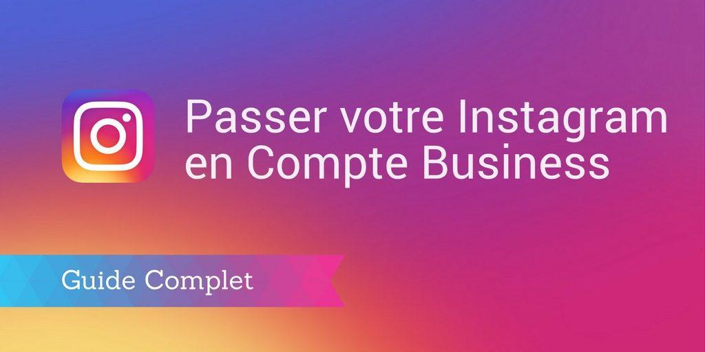 compte instagram business