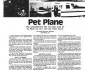 pet plane eugene sugarman