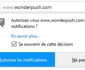 abonner notification
