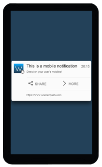 notification push mobile