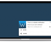 notification push web
