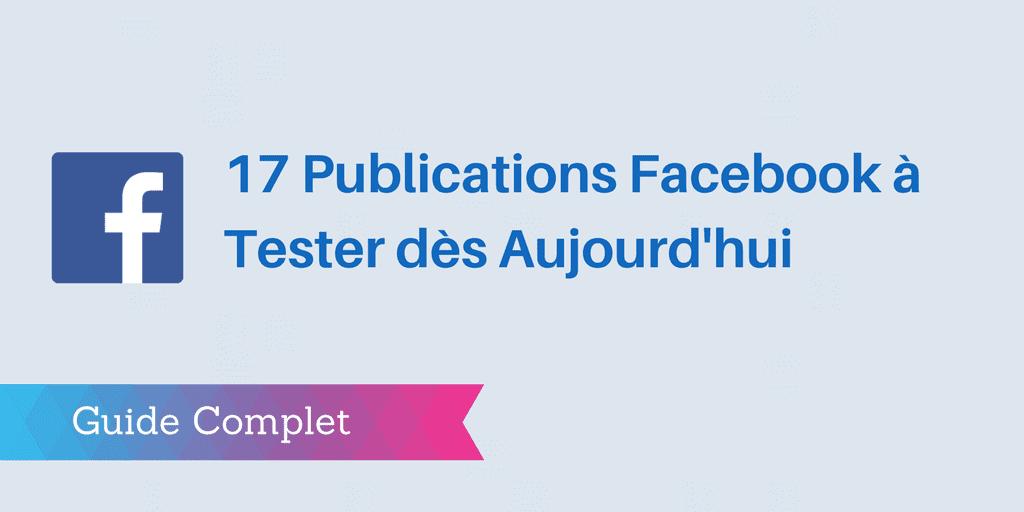 publications facebook