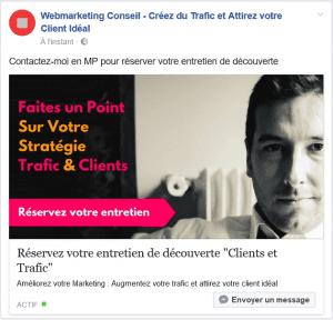 post messenger facebook