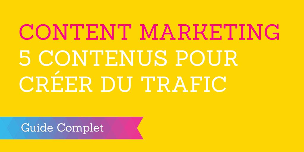 content marketing contenus