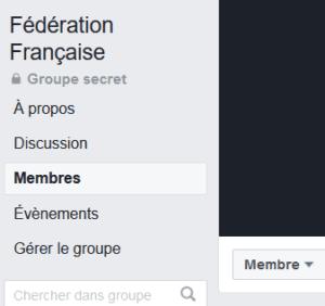 supprimer groupe facebook