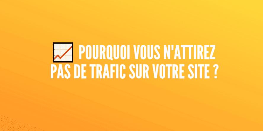 trafic site internet