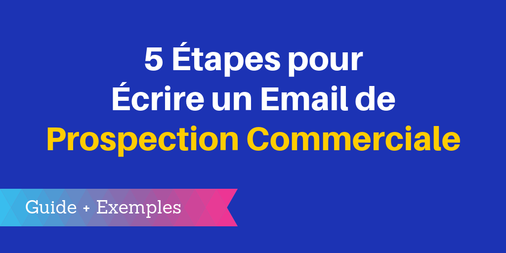 email prospection commerciale