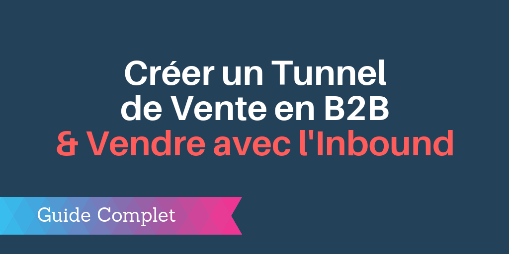 tunnel de vente