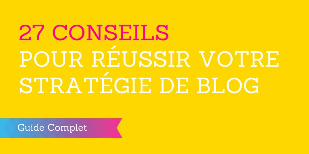 réussir blog