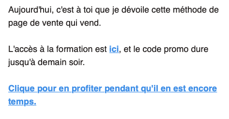 séquence email vente