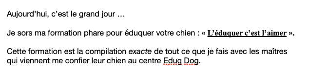 séquence emailing