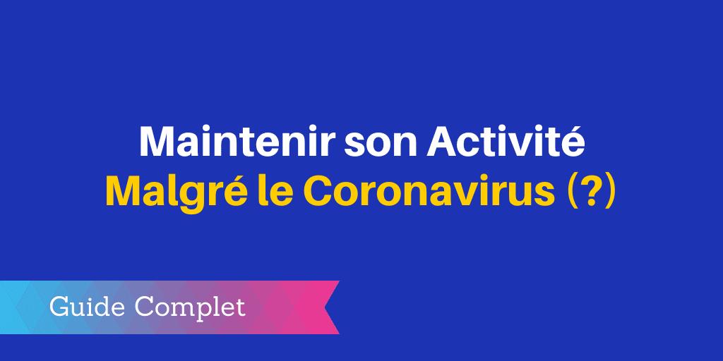 coronavirus entreprises