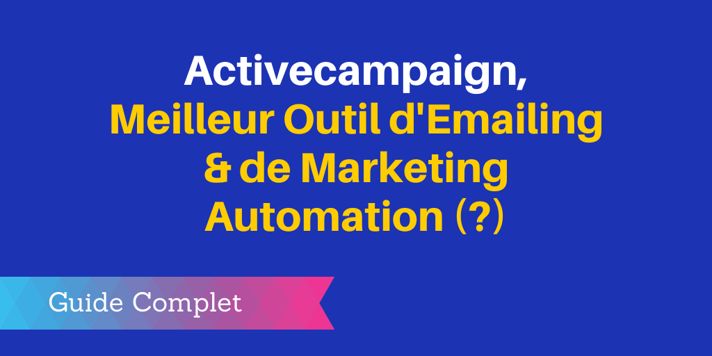outil emailing marketing automation
